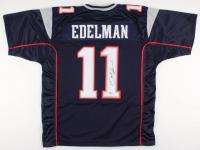 Julian Edelman Signed New England Patriots Jersey (Beckett COA)