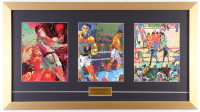 "LeRoy Neiman ""Muhammad Ali"" 15.5x28 Custom Framed Prints Display"