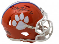 DeAndre Hopkins Signed Clemson Tigers Speed Mini-Helmet (JSA COA) at PristineAuction.com