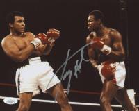 "Larry Holmes Signed ""Vs. Ali"" 8x10 Photo (JSA COA)"