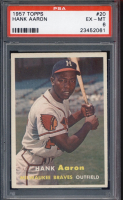 1957 TOPPS BASEBALL GRADED SET BREAK! - Mystery Box - (2 or 3) GRADED Cards Per Pack! at PristineAuction.com