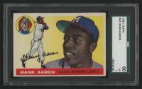 1955 Topps #47 Hank Aaron (SGC 5)