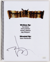 "Johnny Depp Signed ""Pirates of the Caribbean: The Curse of the Black Pearl"" Movie Script (JSA Hologram)"