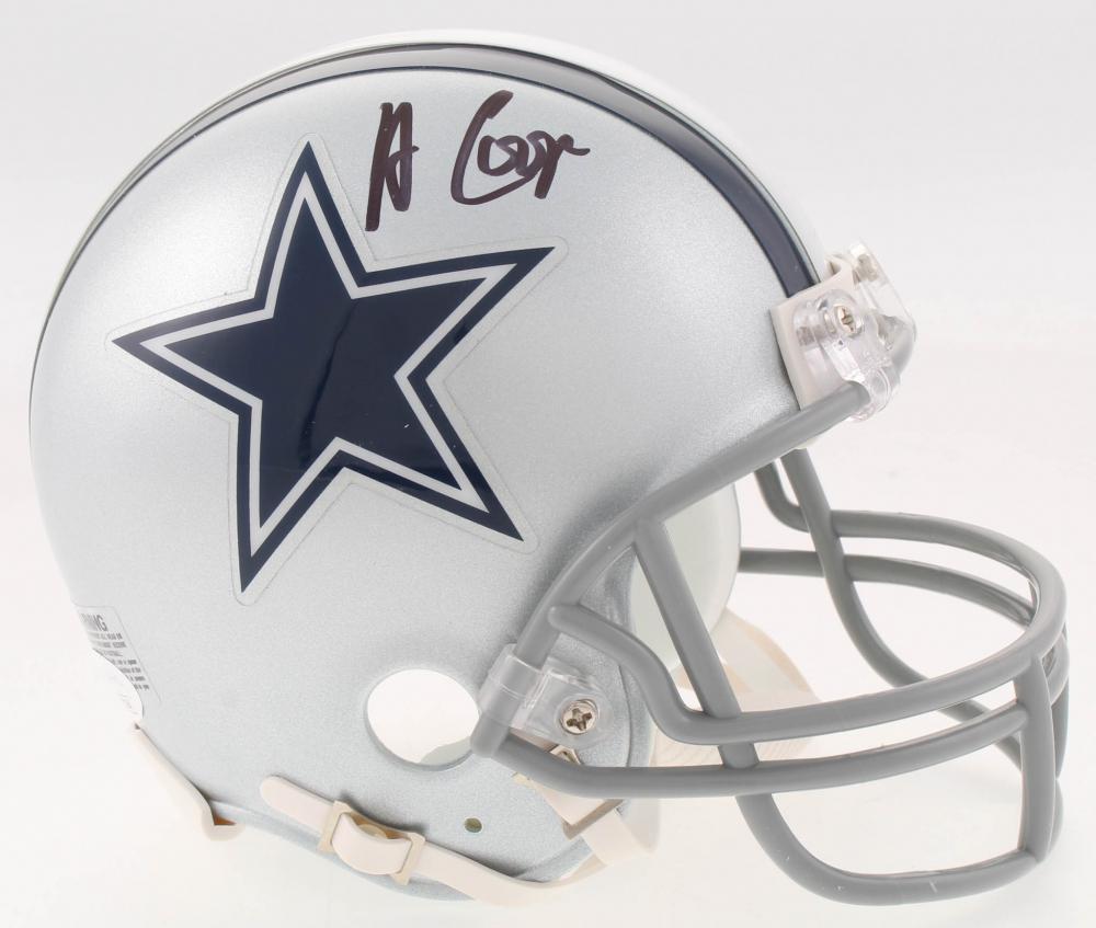 e7c478888 Amari Cooper Signed Dallas Cowboys Mini-Helmet (JSA COA) at  PristineAuction.com