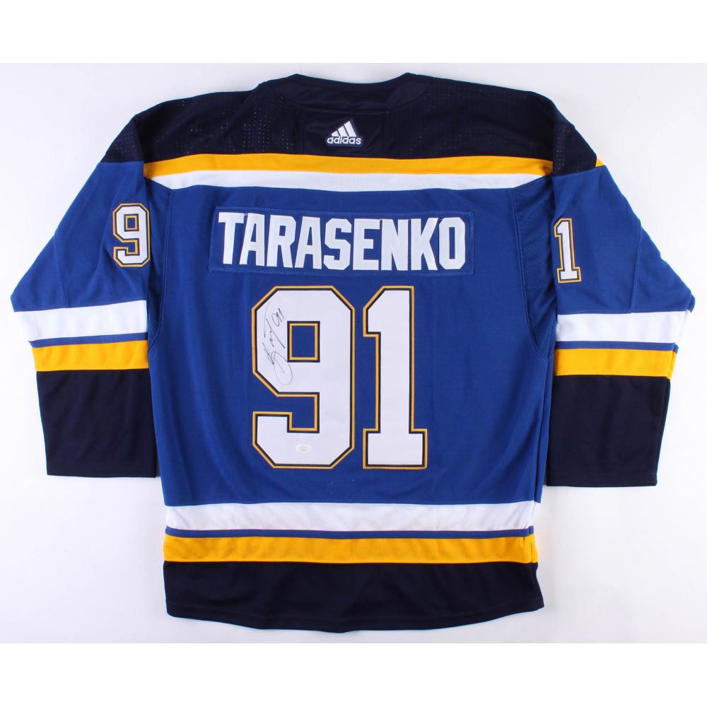 reputable site 75da2 e0a3c tarasenko signed jersey