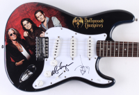 "Johnny Depp & Alice Cooper Signed ""Hollywood Vampires"" 39"" Electric Guitar (JSA Hologram)"