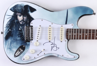 Johnny Depp Signed Full-Size Custom Electric Guitar (JSA Hologram)