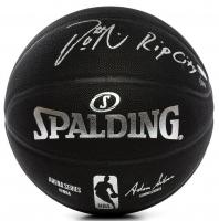 "Damian Lillard Signed LE NBA Arena Series Black Basketball Inscribed ""RIP City"" (Panini COA) at PristineAuction.com"