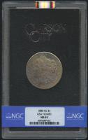 1880-CC $1 Morgan Silver Dollar (NGC MS 63)