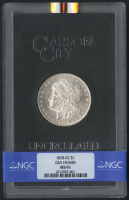 1878-CC $1 Morgan Silver Dollar (NGC MS 61)
