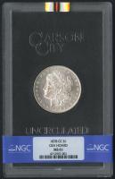 1878-CC $1 Morgan Silver Dollar (NGC MS 61) at PristineAuction.com