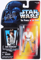 "Mark Hamill Signed ""Star Wars The Power of the Force"" 1995 Kenner Action Figure (Beckett LOA)"