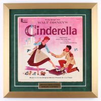 "1959 Walt Disney's ""Cinderella"" 18x18 Custom Framed Record Display"