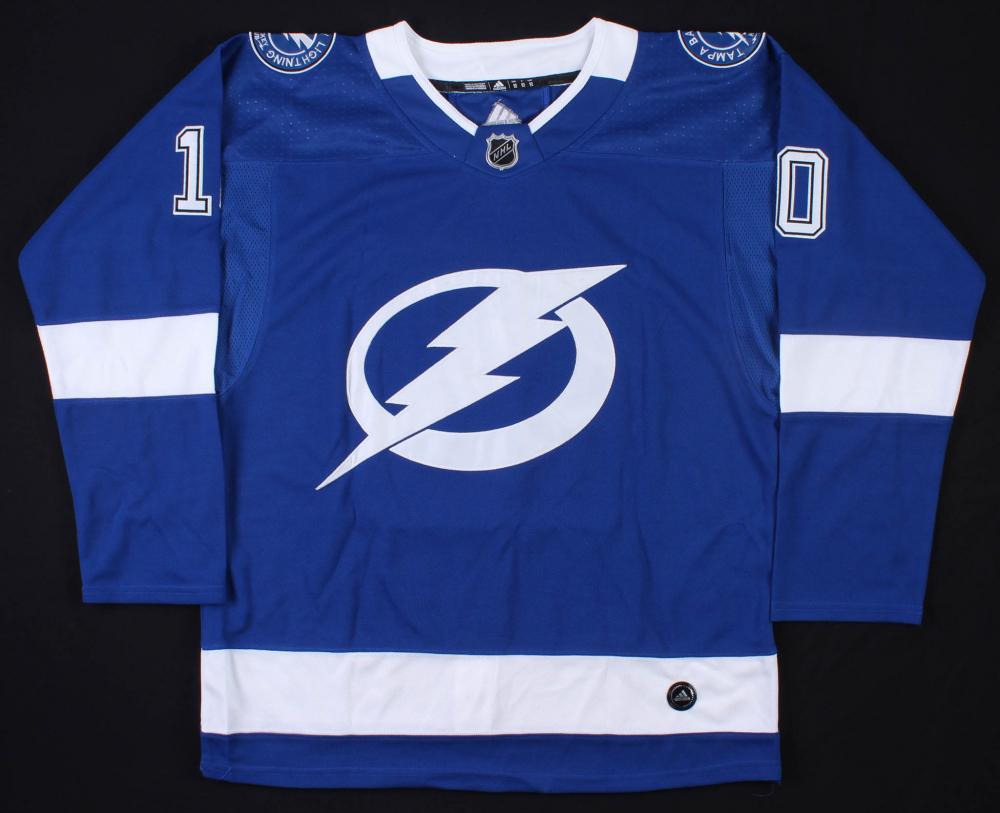 j t miller signed tampa bay lightning jersey jsa coa pristine auction pristine auction