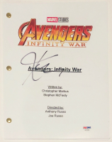 "Karen Gillan Signed ""Avengers: Infinity War"" Full Movie Script (PSA COA)"