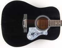"Mike Love & Al Jardine Signed 41"" Acoustic Guitar (PSA COA) at PristineAuction.com"
