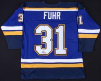 Grant Fuhr Signed St. Louis Blues Jersey (JSA COA)