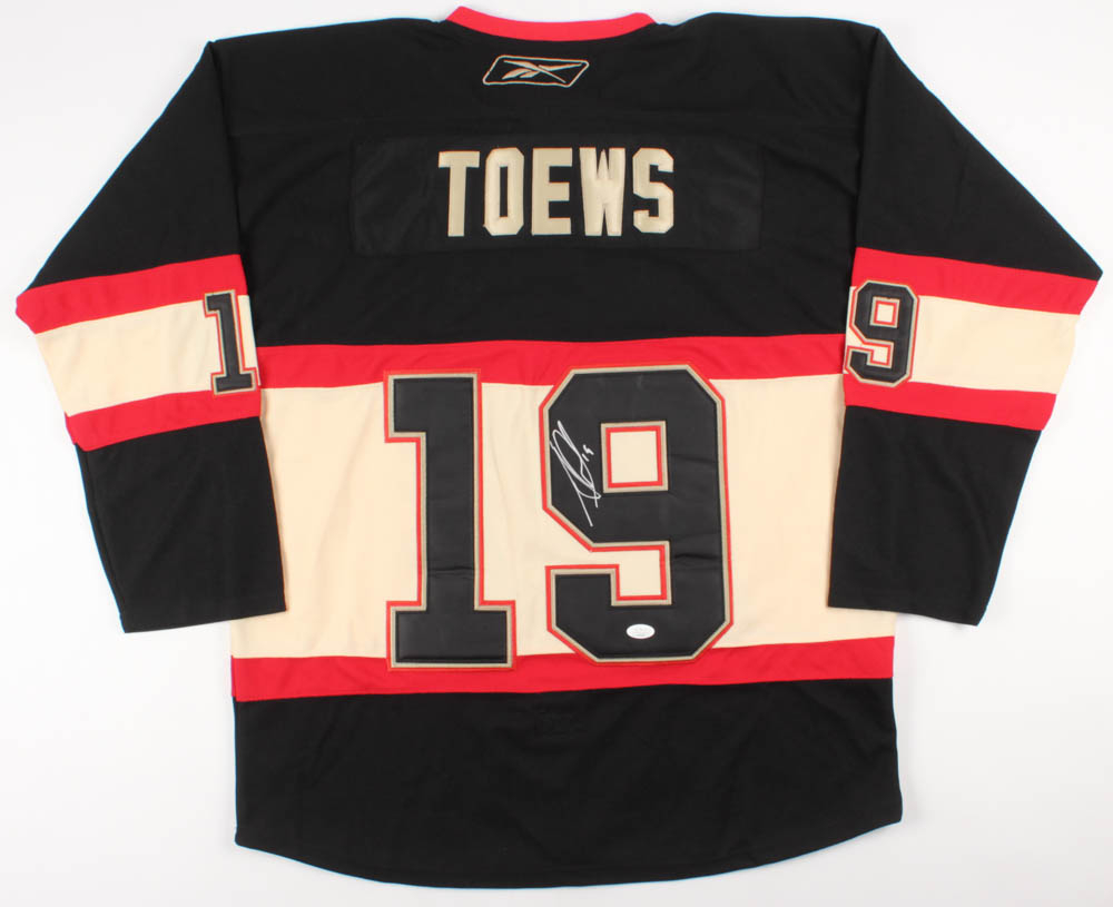 0c6199b442b Jonathan Toews Signed Chicago Blackhawks Captain's Jersey (JSA COA) at  PristineAuction.com