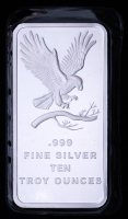 10 oz SilverTowne Eagle Silver Bullion Bar