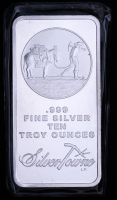 10 oz SilverTowne Prospector Silver Bullion Bar