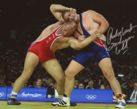 "Rulon Gardner Signed Team USA 8x10 Photo Inscribed ""2000 Olympic Gold"" (MAB Hologram)"