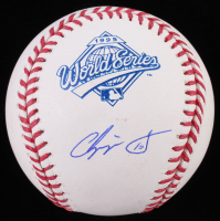 Chipper Jones Signed 1995 World Series Logo Baseball (JSA COA) at PristineAuction.com