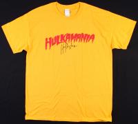 "Hulk Hogan Signed WWE ""Hulkamania"" T-Shirt (JSA COA)"