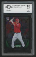 2011 Bowman Chrome #175 Mike Trout RC (BCCG 10)