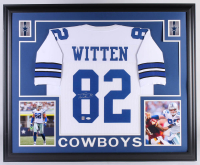 Jason Witten Signed Dallas Cowboys 35x43 Custom Framed Jersey (JSA COA & Witten Hologram) at PristineAuction.com