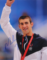 Michael Phelps Signed 11x14 Photo (PSA COA) at PristineAuction.com