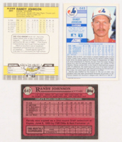 Lot of (21) Randy Johnson Baseball Cards with (14) 1989 Fleer #381 RC, (6) 1989 Score #645 RC & 1989 Topps #647 RC at PristineAuction.com