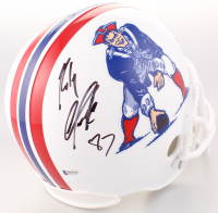 Rob Gronkowski Signed Patriots Full-Size Throwback Helmet (Beckett COA) at PristineAuction.com