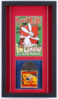 "Vintage 1950's Walter Lantz ""Oswald the Rabbit"" 12.5x21.5x2 Custom Framed Film Reel Shadowbox Display"