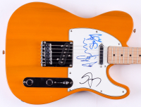 Sting, Stewart Copeland & Andy Summers Signed Fender Squier Bullet Electric Guitar (JSA LOA)