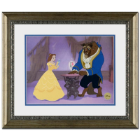 """Disney """"Reflection of Love"""" Limited Edition 21x18 Custom Framed Sericel at PristineAuction.com"""