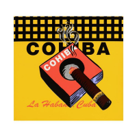 "Steve Kaufman Signed ""Cohiba"" Limited Edition 20x20 Silkscreen on Canvas #32/50 at PristineAuction.com"