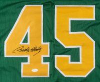 Rudy Ruettiger Signed Notre Dame Fighting Irish Career Highlight Stat Jersey (JSA COA) at PristineAuction.com