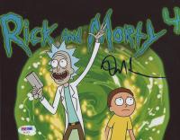 "Dan Harmon Signed ""Rick and Morty"" 8x10 Photo (PSA COA) at PristineAuction.com"