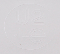 Bono & The Edge Signed U2 23.5x29.5 Custom Framed Poster Display (PSA LOA) at PristineAuction.com