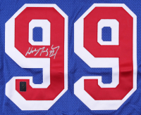 Wayne Gretzky Signed New York Rangers Captains Jersey (Gretzky COA) at PristineAuction.com