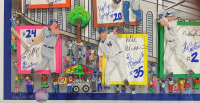 "Charles Fazzino Signed ""In A Yankee State of Mind"" 25x44 Custom Framed Limited Edition Print (Museum Editions COA) at PristineAuction.com"