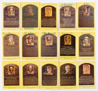 Lot of (291) Hall of Fame Plaque Postcards Including (72) Signed WIth Yogi Berra, Gaylord Perry, Al Kaline, Stan Musial (JSA ALOA) at PristineAuction.com