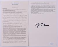 "George W. Bush Signed ""9/11 Speech"" (JSA COA) at PristineAuction.com"
