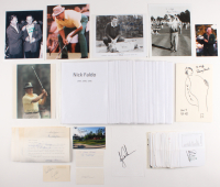 Lot of (49) Assorted 1935-2017 Masters Champions Items with Score Cards, Photos, & Cuts Signed by Jack Nicklaus, Tiger Woods, Arnold Palmer, Hogan Garcia, Fuzzy Zoeller (JSA ALOA & JSA COA)