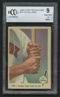 1959 Fleer Ted Williams #33 / Another Triple-Crown (BCCG 9)