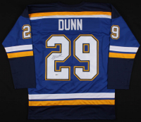 Vince Dunn Signed St. Louis Blues Jersey (Beckett COA) at PristineAuction.com