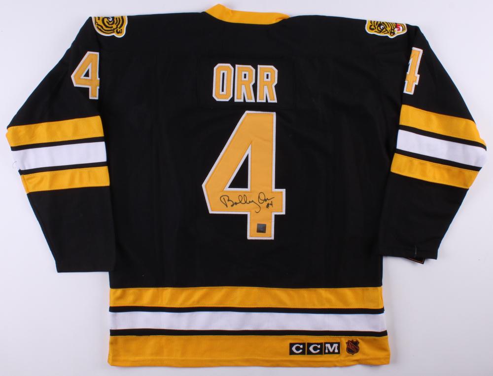72ad7b1b0 Bobby Orr Signed Boston Bruins Jersey (Great North Road COA)