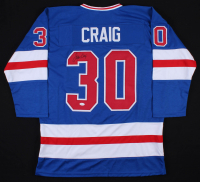 Jim Craig Signed Team USA Jersey (JSA COA) at PristineAuction.com