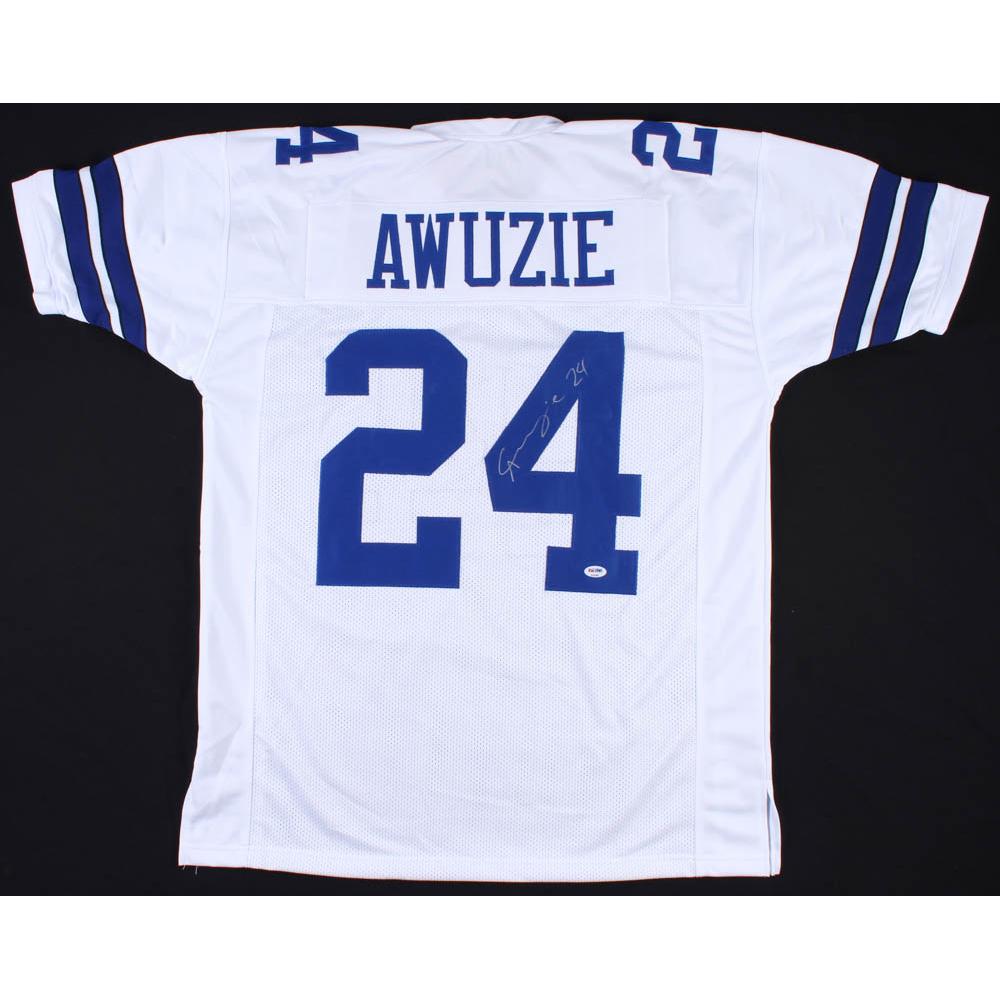 bae60f42267 Chidobe Awuzie Signed Dallas Cowboys Jersey (PSA COA)