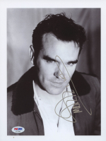 Morrissey Signed 8.5x11 Photo (PSA COA)